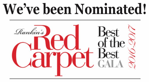 Award: Rankin's 2017 Best of the Best Nominee