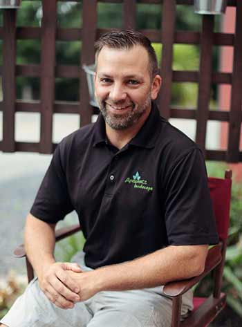 Blake Boyer is the co-owner of Ambiance Landscape.