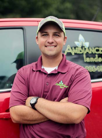 One of the Landscape Designers & Estimators for Ambiance Landscape is Josh McCrory.